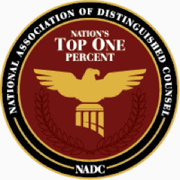 National Association of Distinguished Counsel Member